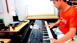 Nhạc Hòa Tấu Organ||  Chiếc Áo Bà Ba Nguyễn Kiên Roland BK9nhaccugiatot.com