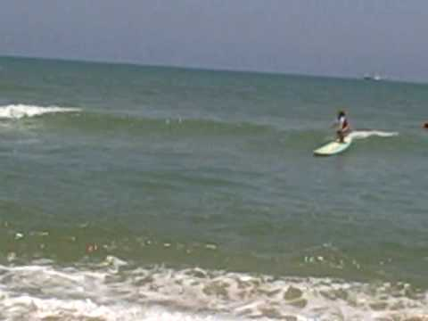 Maddie Surfer Girl A Wipe Out Youtube