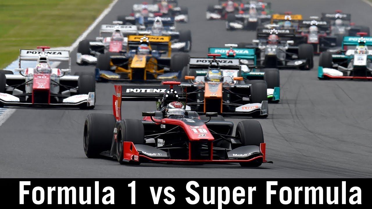 Formula 1 versus Super Formula - what's the difference? Hi-tech explanation