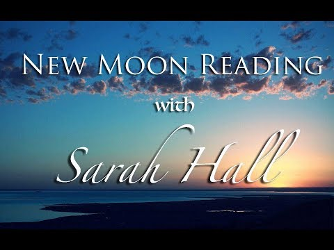 New Moon Reading | Sept. 20-Oct. 4, 2017| Sarah Hall ☽♥☾