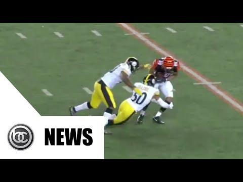 Ryan Shazier Injured, Not Moving Legs | BREAKING NEWS
