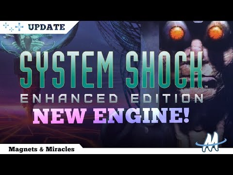 Up to 4K RESOLUTION & IMPROVED GRAPHICS - updated System Shock Enhanced Edition