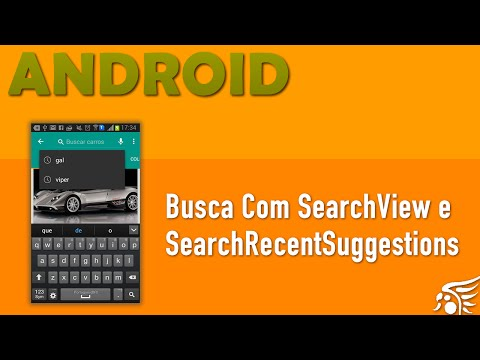 Buscas Com SearchView e SearchRecentSuggestions. Material Design Android - Parte 13