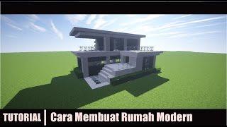 MINECRAFT : Tutorial Cara membuat Rumah Modern - 5