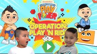 Our Game On NICK Jr Website!!