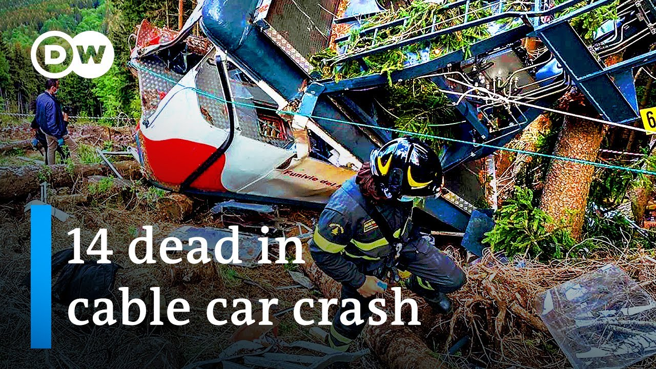 Download Italian authorities investigate cause of cable car crash   DW News