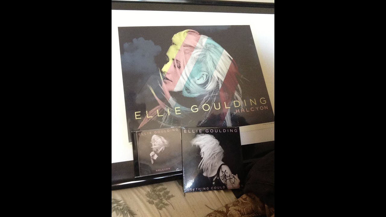 Ellie Goulding Halcyon Limited Edition Set Unboxing Youtube