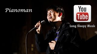 [Music Video] Billy Joel - Piano Man - Acoustic Cover by Long Sleepy