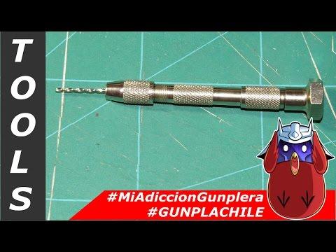 #MAG - Tools - Taladro manual #GunplaChile