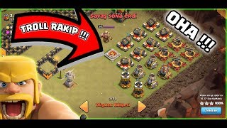 DÜNYANIN EN ŞANSLI KLANIYIZ !! ( Troll rakip geldi ) | Clash Of Clans