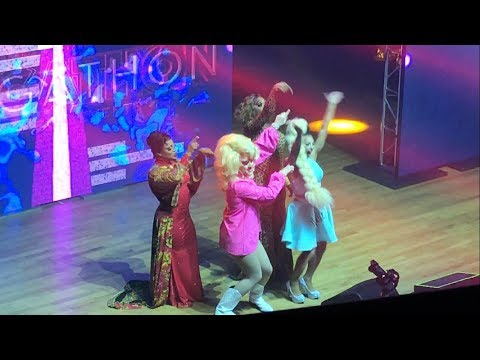 Hey Kitty Girl All Stars 3 Live - Trixie, Shangela, Bebe, Kennedy