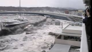Japan Earthquake: Shocking New Tsunami Video (03.14.11) thumbnail