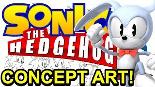 Sonic Characters Concept Arts - Sonic, Tails, Knuckles, Shadow, and Silver - NewSuperChris
