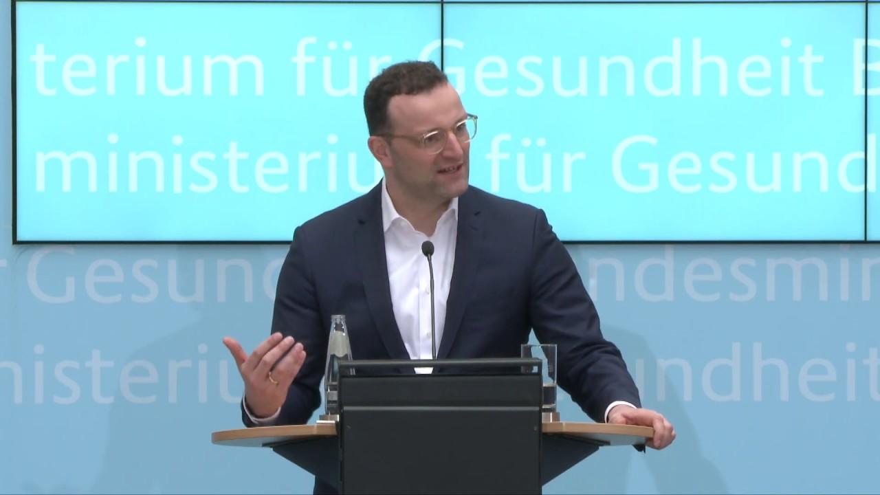 Der rasante Fall des deutschen Gesundheitsministers