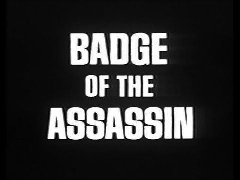 Badge Of The Assassin 1985 - TV Movie - James Woods, Yaphet Kotto