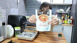 청정원 집으로온 김치짜글이 리뷰Instant korea…