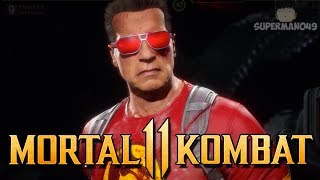"First Time Playing Terminator Online! - Mortal Kombat 11: ""Terminator"" Gameplay"