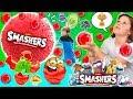 🔴 ¡¡JUEGOS y RETOS con + 1000 SMASHERS!! 🔴 Bolas SORPRESA que Estallan + SUPER PIÑATA Smashers
