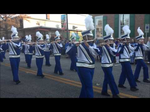 North Caroline High School Band Homecoming Parade 2015