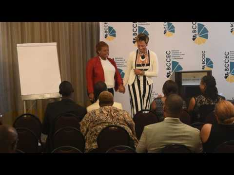 Camilita speaking in the Bahamas on 7 Steps to 7 Figure sales