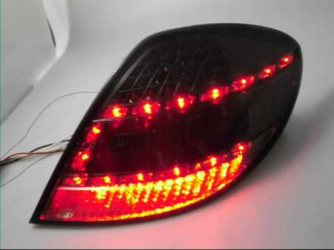 sw light led taillights mercedes slk r171 smoke by sw. Black Bedroom Furniture Sets. Home Design Ideas