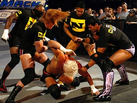 SmackDown: The Nexus invades the live debut on Syfy