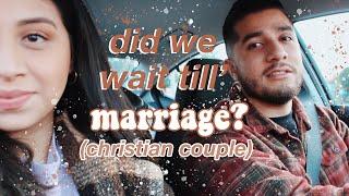 PREMARITAL SEX   Did we wait till marriage?   Christian Couple