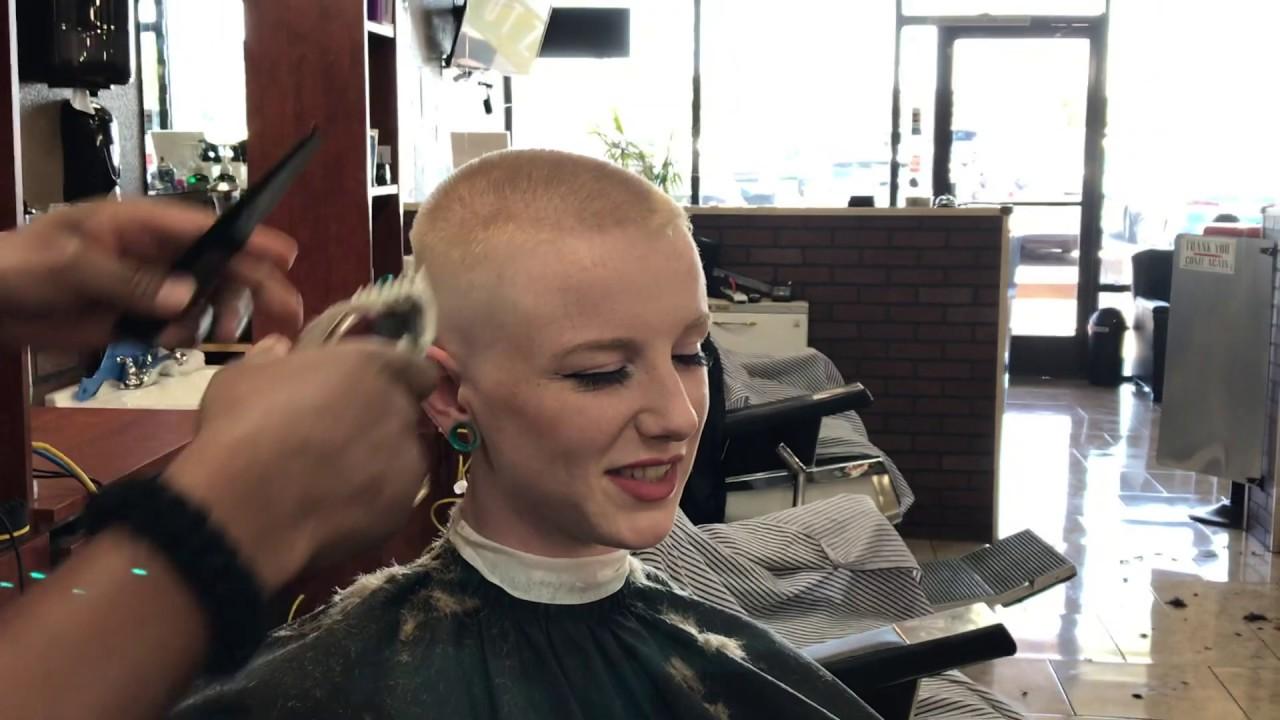 Haircut barbershop ladies in Wife Haircut