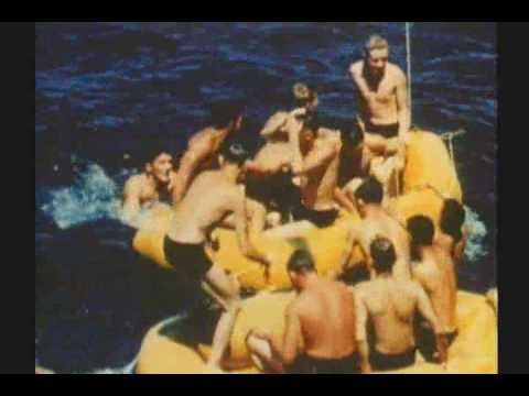 WW II : RARE COLOR FILM : AIRCRAFT CARRIER IN THE PACIFIC