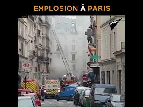 Au moins 30 personnes touchées par une explosion dans le 9e arrondissement de Paris