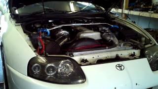 2JZGTE Toyota Supra Dyno Tune @ Autodream