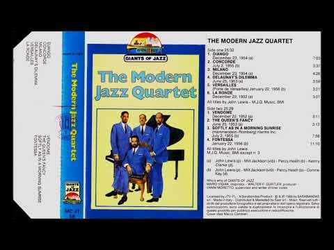 The Modern Jazz Quartet - The Modern Jazz Quartet - album CASSETTE - 1986