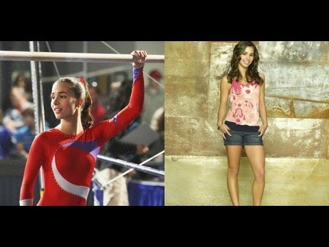 Sports Makeup  Shay Mitchell and Josie Loren from Make It or Break It