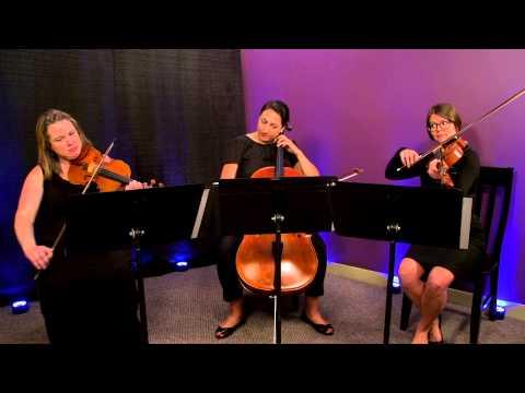 Clocks (Coldplay) for String Trio (Violin, Viola, Cello)