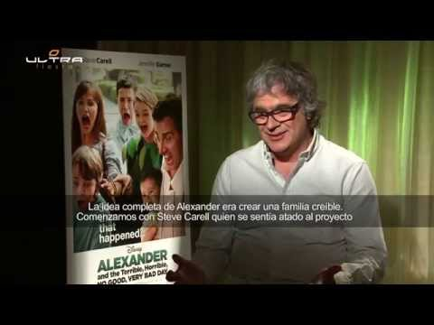 Interview with Director Miguel Arteta - Alexander and the Terrible, Horrible, NO GOOD, VERY BAD DAY