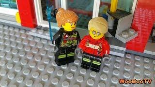 LASTENOHJELMIA SUOMEKSI - Lego city - Metsäpalovaroitus - osa 2