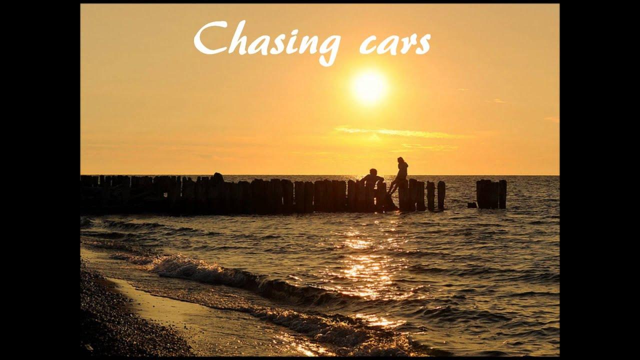 CHASING CARS Chords - Snow Patrol | E-Chords