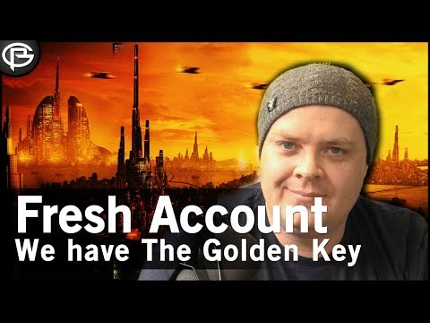 Fresh Account  We have the Golden Key!