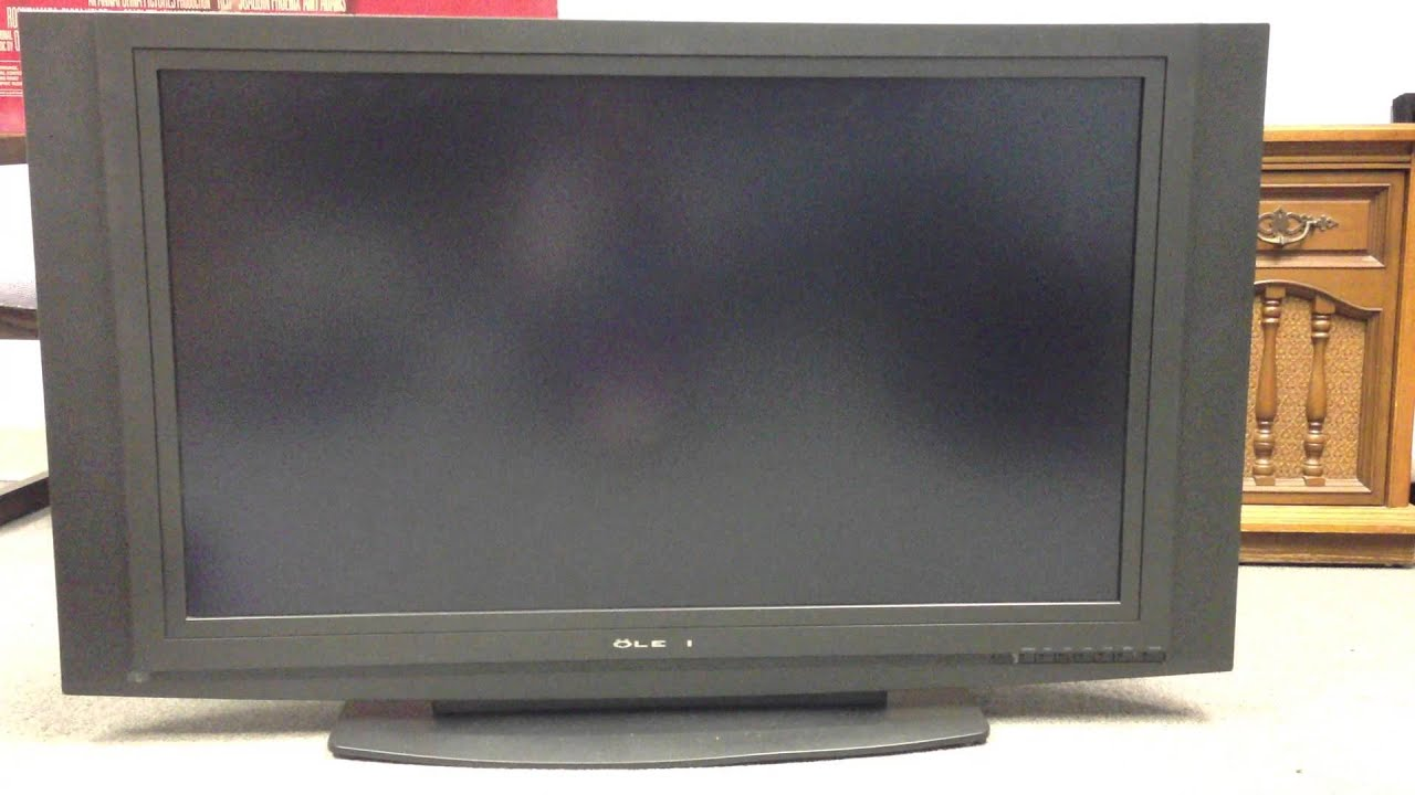Olevia LCD TV - YouTube
