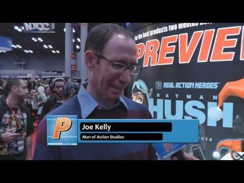 Joe Kelly Talks About Man of Action Studios' Latest Projects