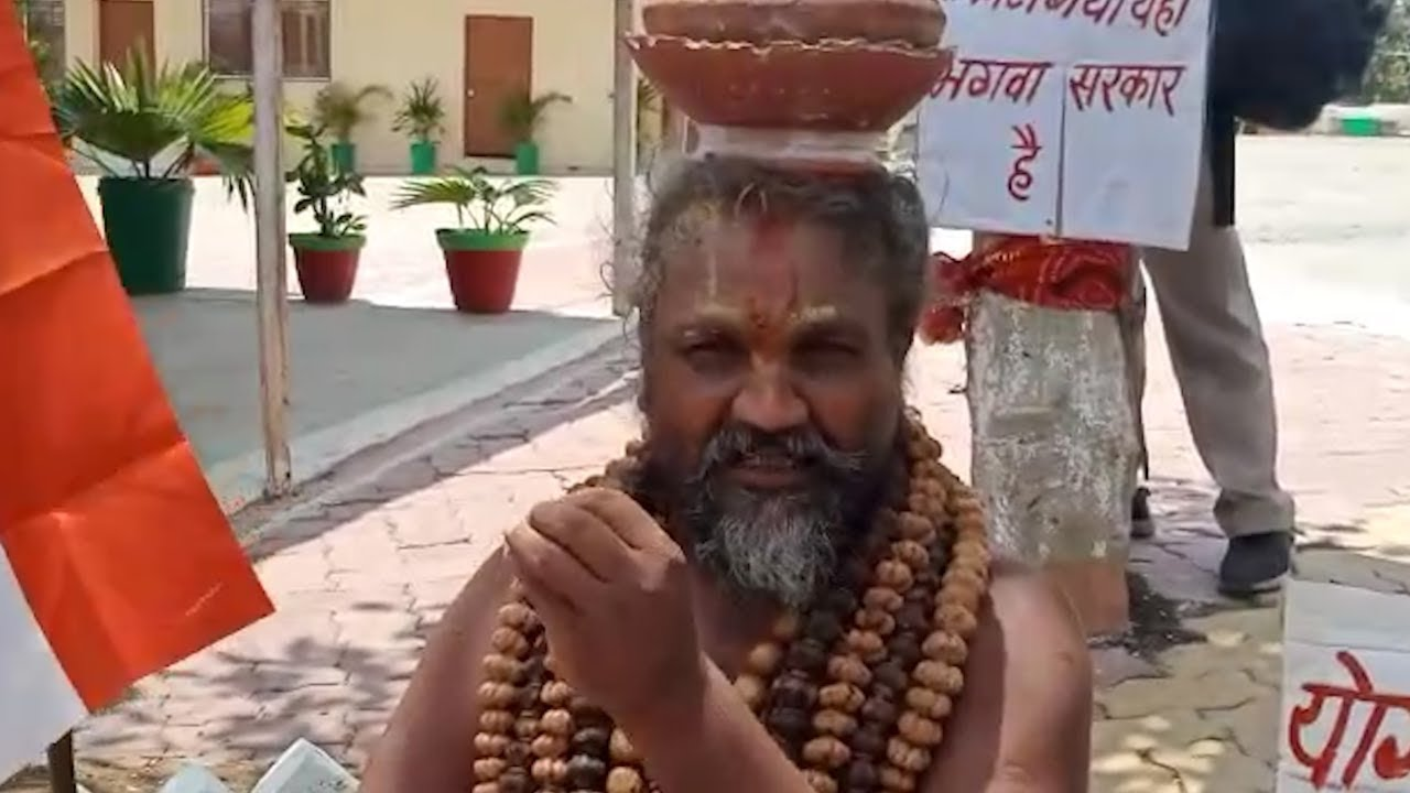 Watch: Computer Baba protests against killing of sadhus in Palghar and Bulandshahr