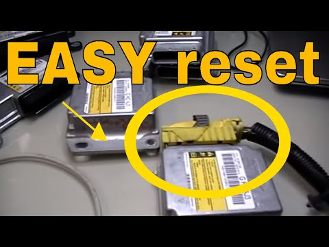 How to Reset / Repair clear the crash data from GM Airbag control