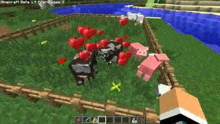 Minecraft 1.9 (3) Prerelease - Rozmnażanie zwierząt