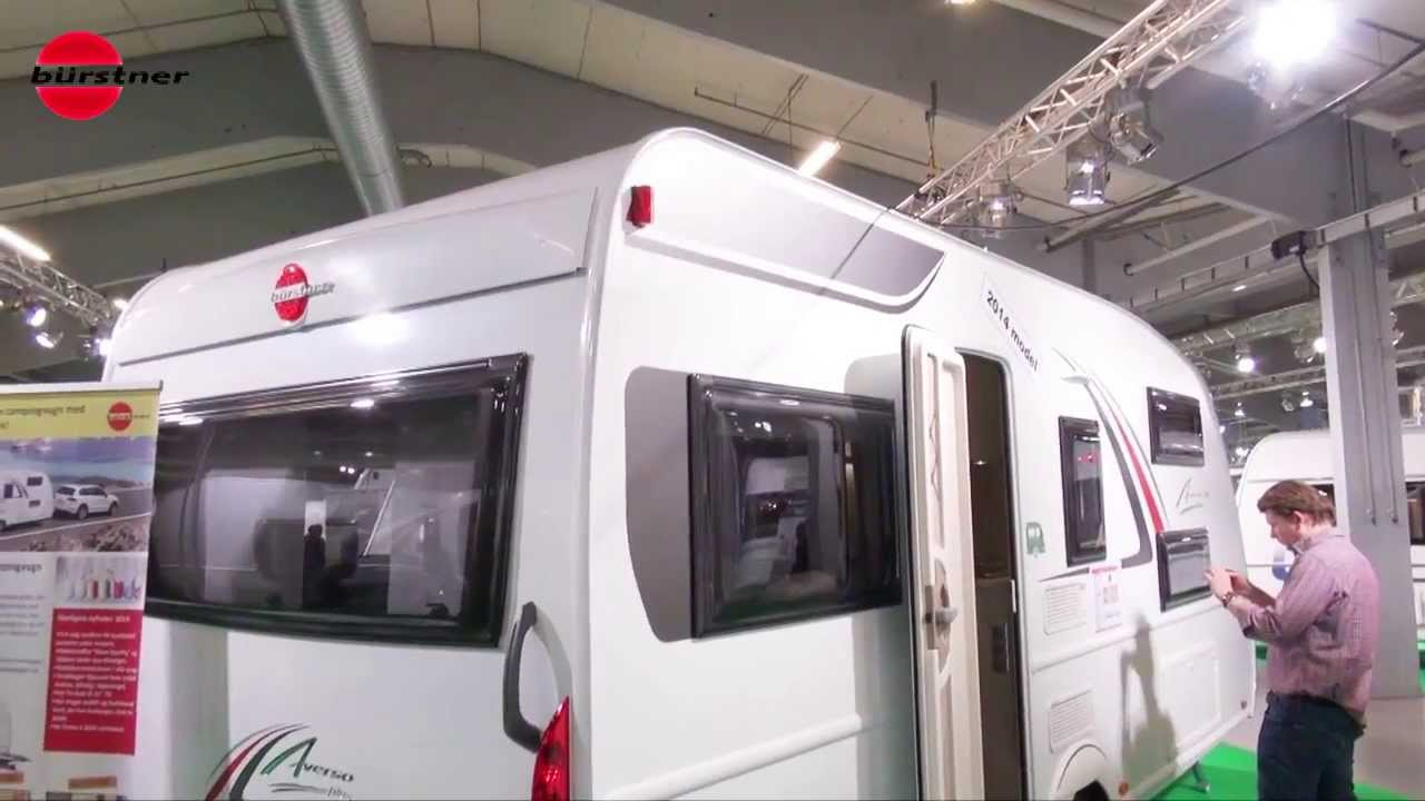 b rstner averso plus 510 tk 2014 caravan with 7 beds youtube. Black Bedroom Furniture Sets. Home Design Ideas