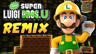 New Super Luigi U Remade in Super Mario Maker