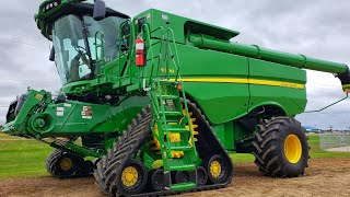 My Daughter got a New Combine!!