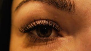 Наращивание ресниц.Как наращивают ресницы.Моя работа.Eyelash Extensions.(, 2015-01-06T17:48:22.000Z)