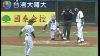 2007 IBAFワールドカップ 銅メダル決定戦 摂津正 投手 四裏