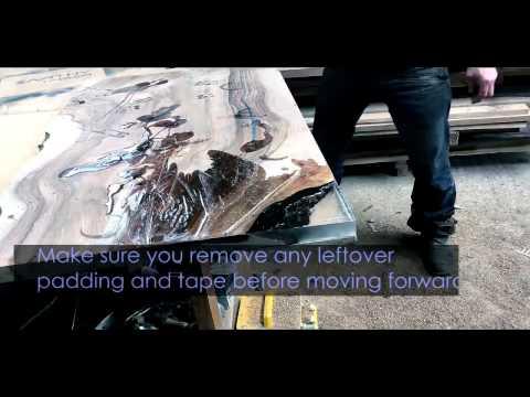 Wood DIY: Epoxy Resin Table Corner - Part II