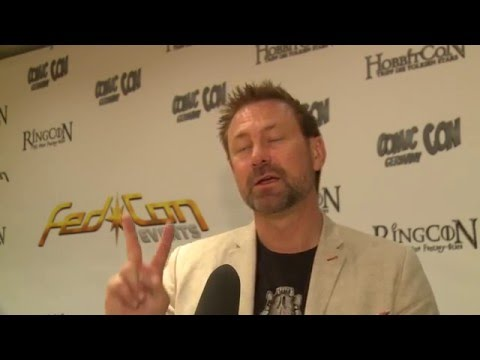 Grant Bowler DEFIANCE  at FedCon